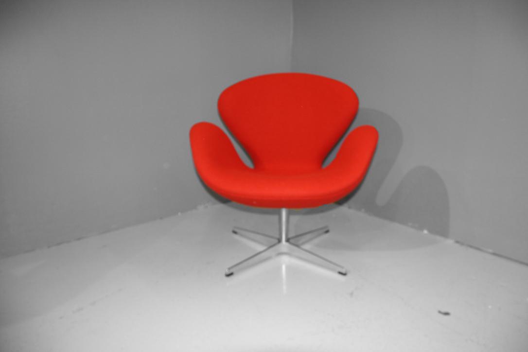 fauteuil swan design arne jacobsen edition fritz hansen coulon tapissier. Black Bedroom Furniture Sets. Home Design Ideas